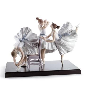 Backstage Ballet Lladro Figurine