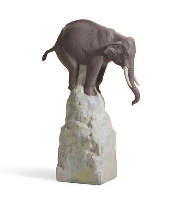 Balance - Elephant Ii Lladro Figurine