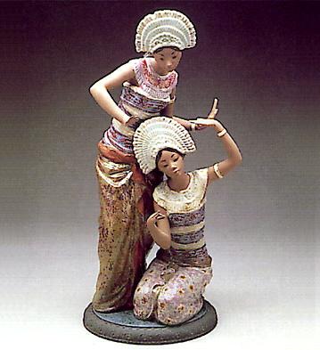 Bali Dancers Lladro Figurine