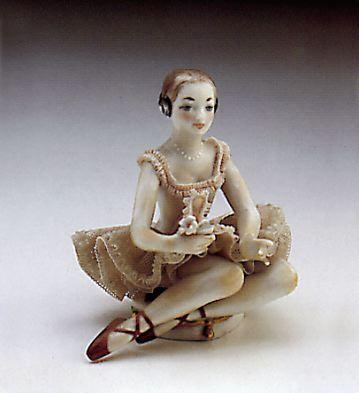 Ballerina Resting Lladro Figurine