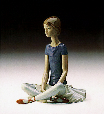 Ballet Dark Purple - 3 Lladro Figurine