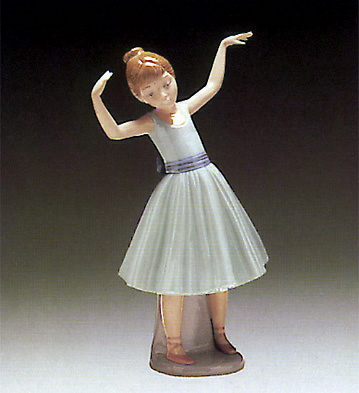 Ballet First Step Lladro Figurine