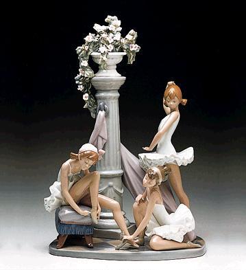 Ballet Trio Lladro Figurine