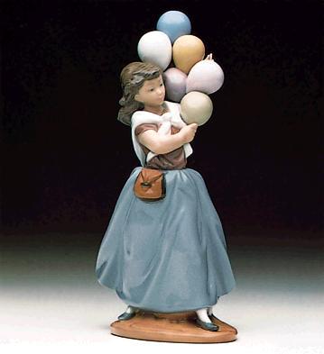 Balloon Seller Lladro Figurine