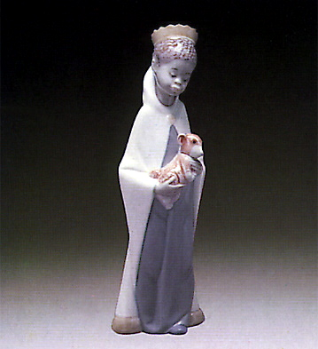 Baltasar King Lladro Figurine
