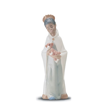 Baltasar King Lladro Figurine