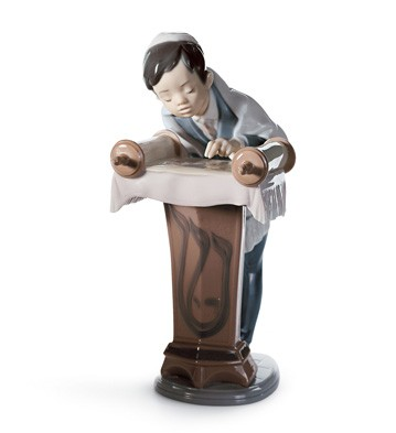 Bar Mitzvah Day Lladro Figurine