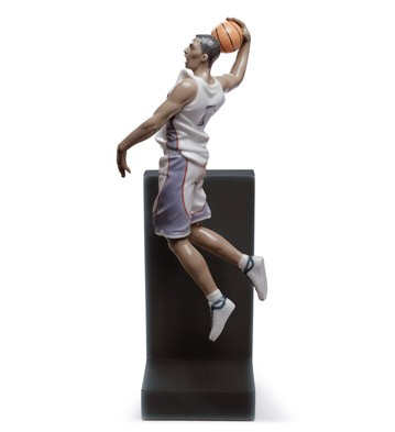 Basketball Dunk Lladro Figurine