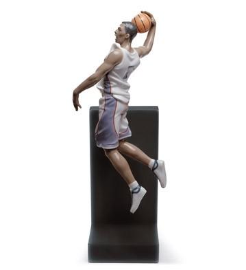 Basketball Dunk Lladro Figurine
