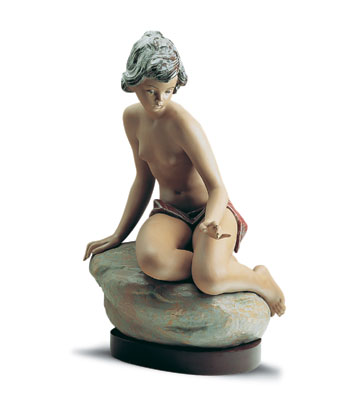 Bathing Nymph (b) Lladro Figurine