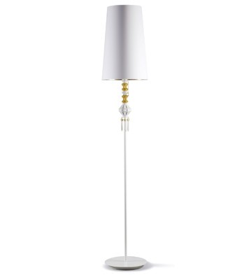 Bdn -floor Lamp I -gold (us) Lladro Figurine