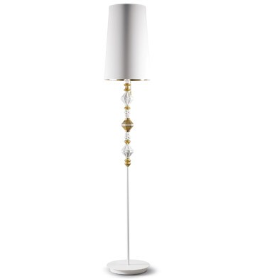 Bdn -floor Lamp Ii -gold (us) Lladro Figurine