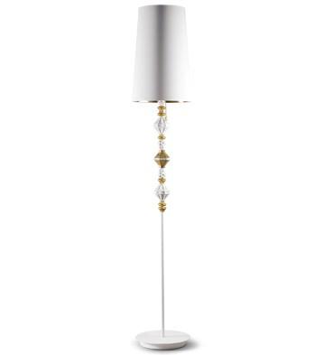 Bdn -floor Lamp Ii -gold (us) Lladro Figurine