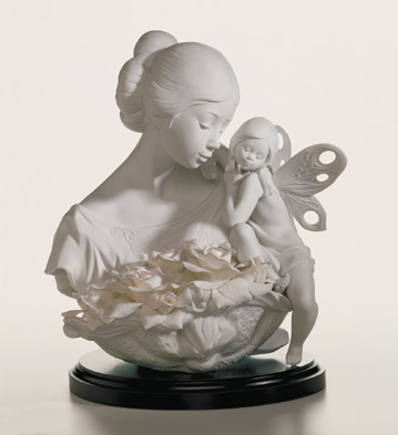 Beauty In Bloom Lladro Figurine