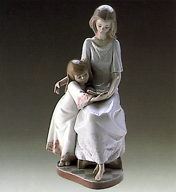 Bedtime Story Lladro Figurine