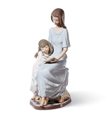Bedtime Story Lladro Figurine