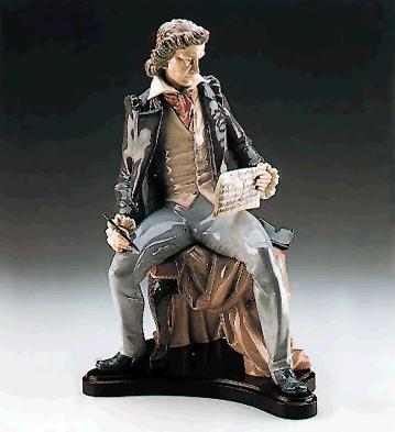 Beethoven (l.e.) (b) Lladro Figurine