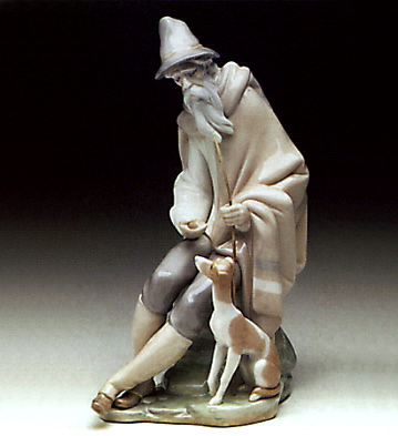 Beggar Lladro Figurine