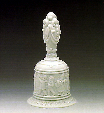 Bell-decorated Lladro Figurine
