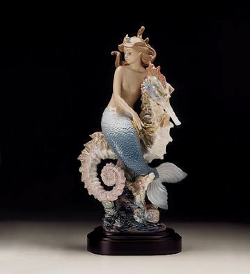 Beneath The Waves (l.e.)b Lladro Figurine