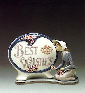 Best Wishes Lladro Figurine