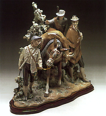 Big Game (l.e.) (b) Lladro Figurine