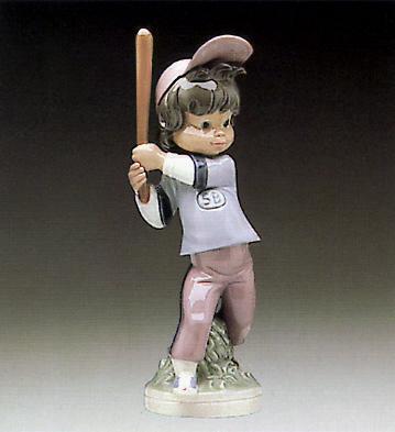 Billy Base-ball Player Lladro Figurine