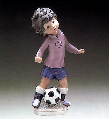 Billy Foot-ball Player Lladro Figurine