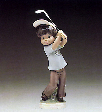 Billy Golfer Lladro Figurine