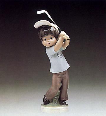 Billy Golfer Lladro Figurine