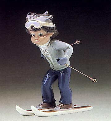 Billy Skier Lladro Figurine