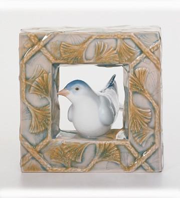 Bird - Natural Frames Lladro Figurine