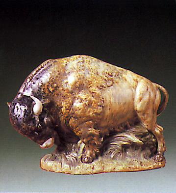 Bison Lladro Figurine