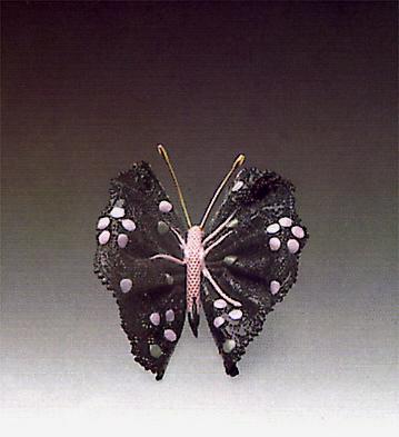 Black Butterfly N.3 Lladro Figurine