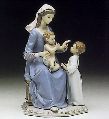 Bless The Child Lladro Figurine