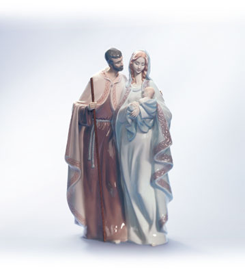 Blessed Family Lladro Figurine