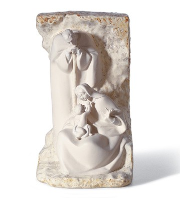 Blessed Family Mural Lladro Figurine
