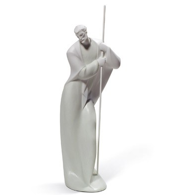 Blessed Father Lladro Figurine