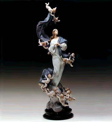 Blessed Lady (l.e.) (b) Lladro Figurine