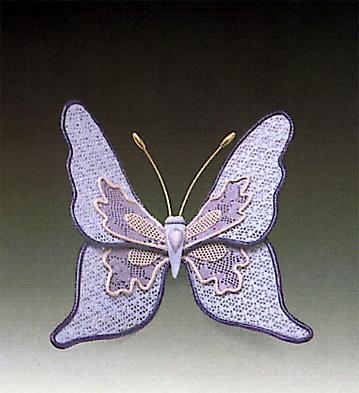 Blue Butterfly N.9 Lladro Figurine