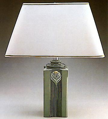 Blue Memphis Lamp Lladro Figurine