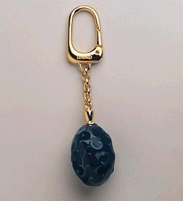 Blue Oval Keyholder Lladro Figurine