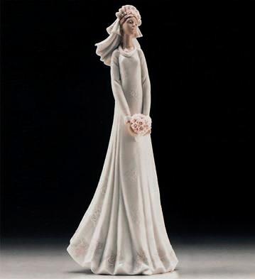 Blushing Bride Lladro Figurine