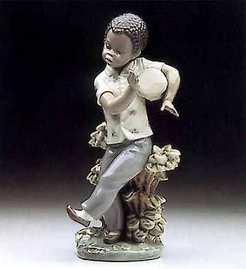 Bongo Beat Lladro Figurine