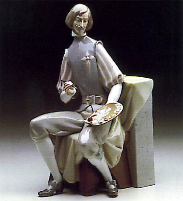 Bookend Velazquez Lladro Figurine