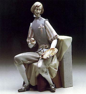 Bookend Velazquez Lladro Figurine