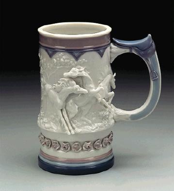 Born Free Mug (kirin) Lladro Figurine