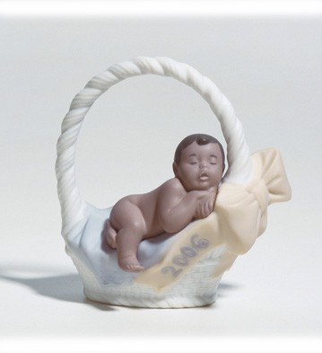 Born In 2006 Black Legacy Lladro Figurine