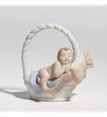 Born In 2006 Lladro Figurine