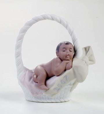 Born In 2007 Black Legacy (girl) Lladro Figurine